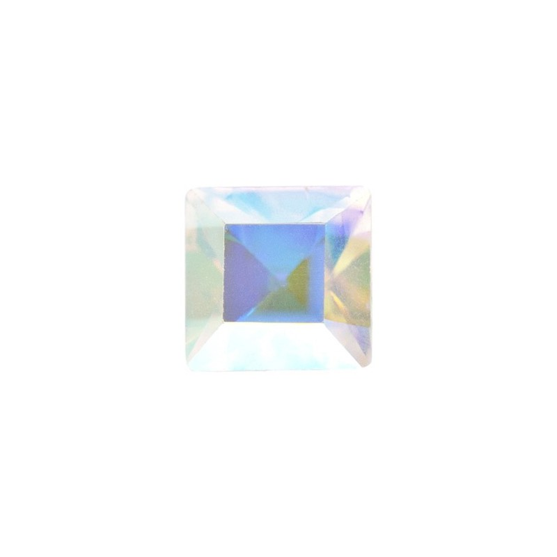 2mm Crystal AB F (001 AB) Square 4428 Fancy Stone Swarovski Elements