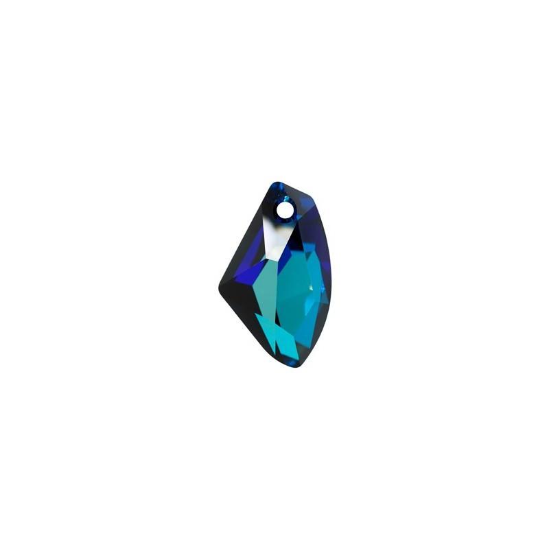 19MM Crystal Bermuda Blue P (001 BBL) Galactic Vertical Pendant 6656 SWAROVSKI ELEMENTS