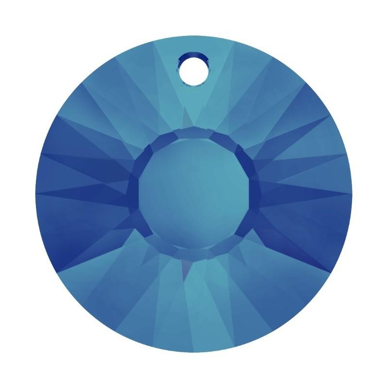 19MM Crystal Bermuda Blue P (001 BBL) Sun Ripats 6724 SWAROVSKI ELEMENTS