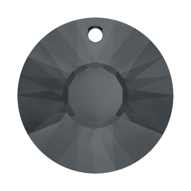 19MM Crystal Silver Night (001 SINI) Sun Pendant 6724 SWAROVSKI ELEMENTS