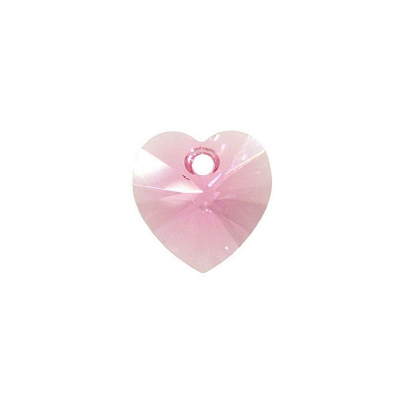 14.4x14MM Rose (209) XILION Heart Pendants 6228 SWAROVSKI ELEMENTS