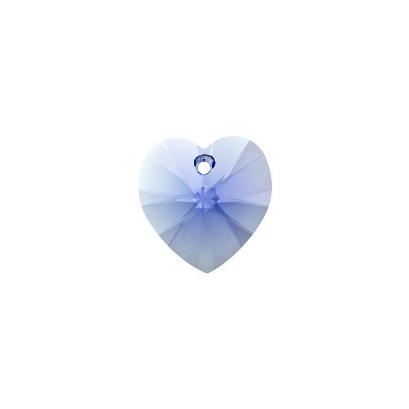 10.3x10MM Light Sapphire (211) XILION Heart Pendants 6228 SWAROVSKI ELEMENTS