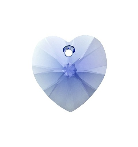 14.4x14MM Light Sapphire (211) XILION Heart Pendants 6228 SWAROVSKI ELEMENTS