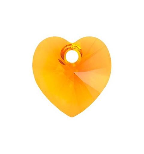 10.3x10MM Tangerine (259) XILION Süda Ripatsid 6228 SWAROVSKI ELEMENTS