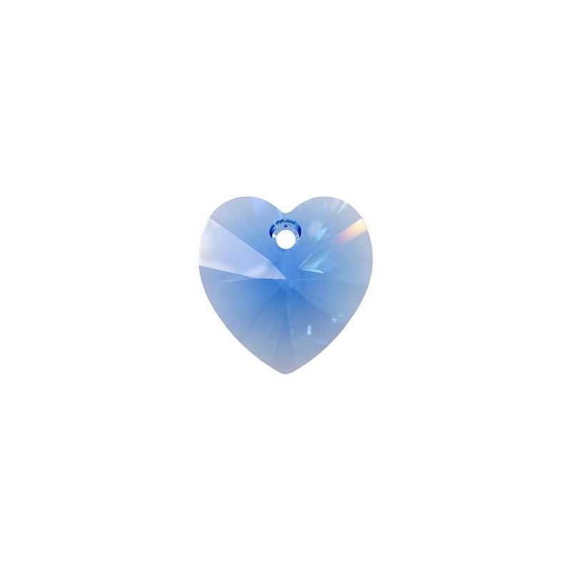 10.3x10MM Sapphire (206) XILION Сердце Подвески 6228 SWAROVSKI ELEMENTS