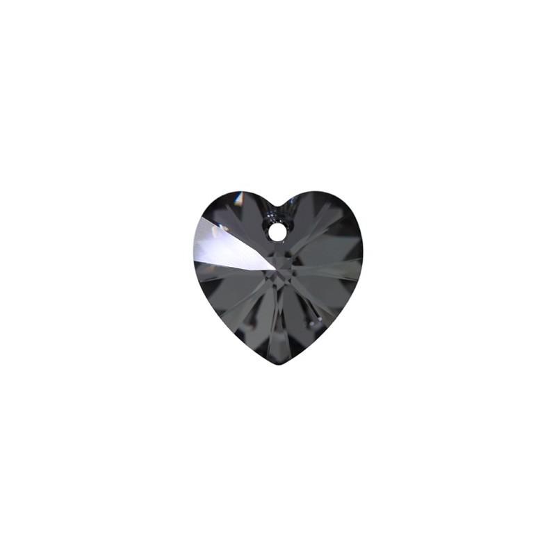 10.3x10MM Crystal Silver Night (001 SINI) XILION Сердце Подвески 6228 SWAROVSKI ELEMENTS