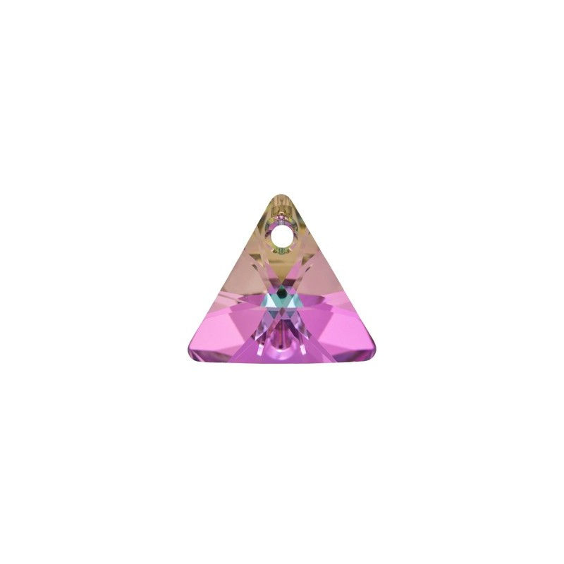 16MM Crystal Vitrail Light P (001 VL) XILION Triangle Pendants 6628 SWAROVSKI ELEMENTS