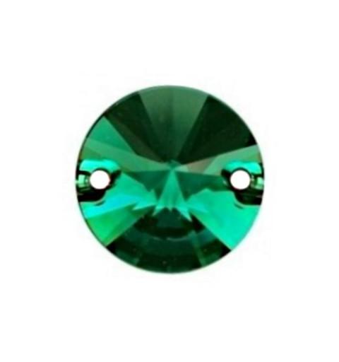 10MM Emerald F (205) 3200 Rivoli SWAROVSKI ELEMENTS