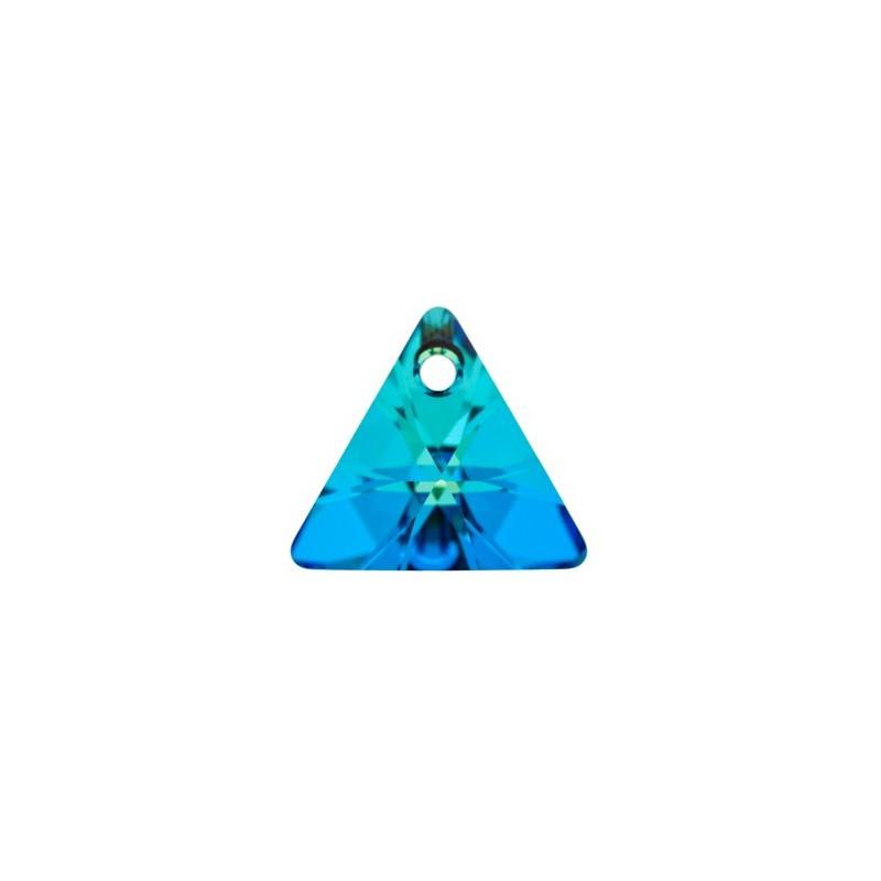 16MM Crystal Bermuda Blue P (001 BB) XILION Kolmnurk Ripatsid 6628 SWAROVSKI ELEMENTS