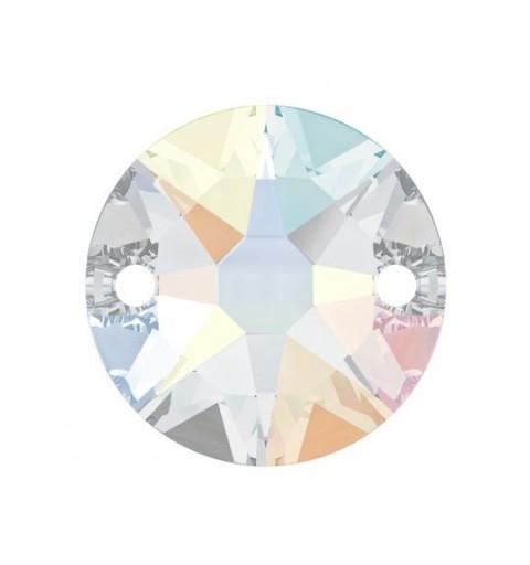 10MM Crystal AB F (001 AB) 3288 XIRIUS SWAROVSKI ELEMENTS