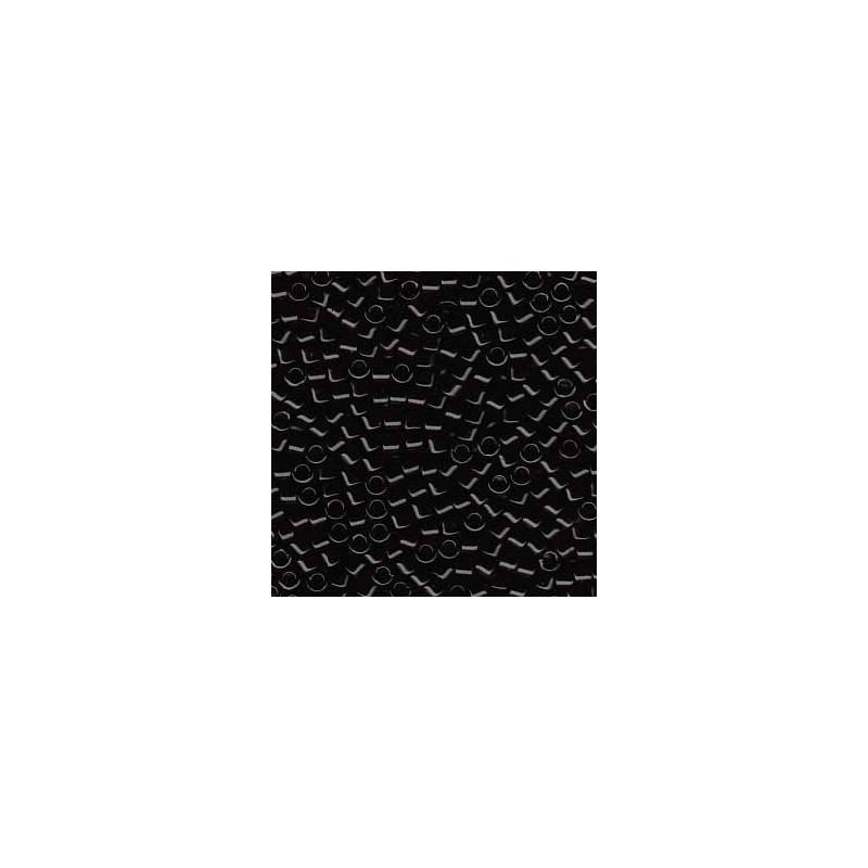 DB-10 Opaque Black Miyuki DELICA 11/0 HELMED