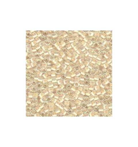 DB-52 Cream-Lined Crystal AB Miyuki DELICA 11/0 seed beads