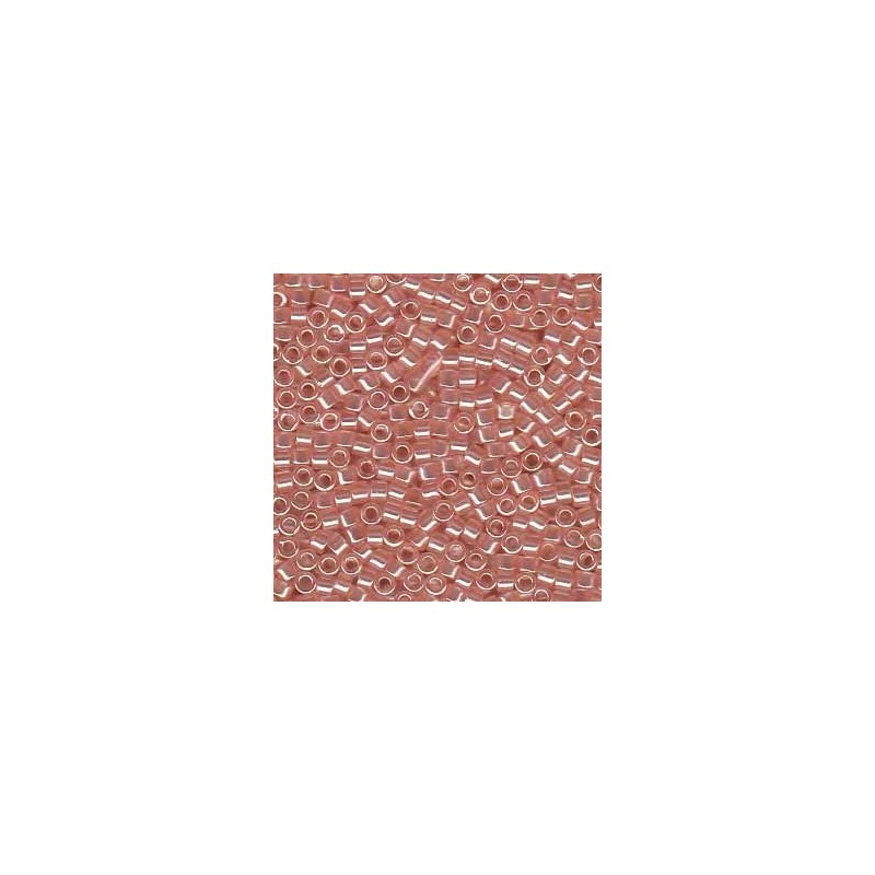 DB-106 Transparent Coral Pink Luster Miyuki DELICA 11/0 seed beads