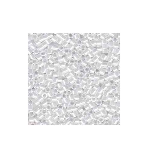 DB-201 Opaque White Luster Miyuki DELICA 11/0 seed beads