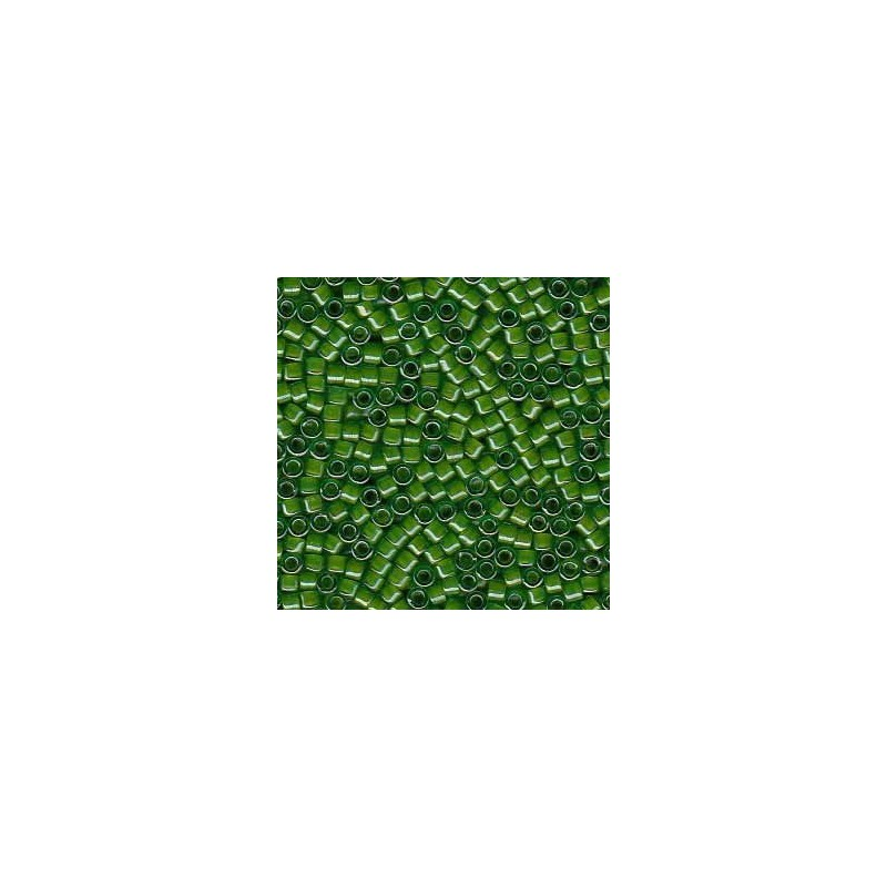 DB-274 Chartreuse-Lined Green Miyuki DELICA 11/0 seed beads