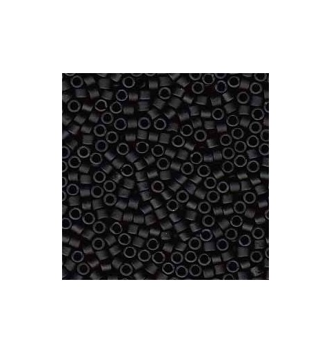 DB-310 Matte Opaque Black Miyuki DELICA 11/0 seed beads