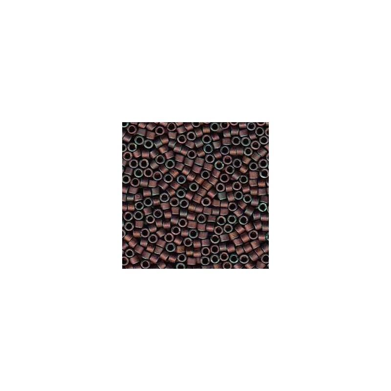 DB-312 Matte Metallic Copper AB Miyuki DELICA 11/0 seed beads