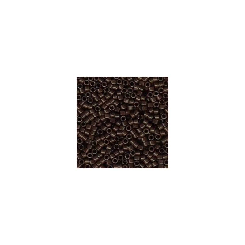 DB-734 Opaque Chocolate Brown Miyuki DELICA 11/0 seed beads