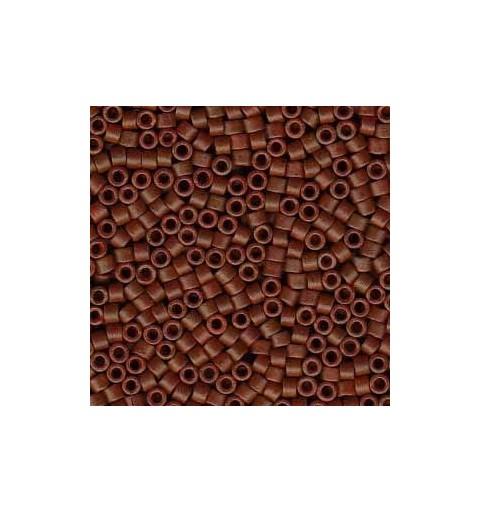 DB-794 Semi-Matte Opaque Chestnut Brown Miyuki DELICA 11/0 seed beads