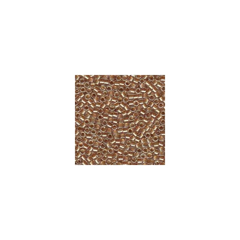 DB-901 Rose Beige Lined Crystal w/Sparkle Miyuki DELICA 11/0 seed beads