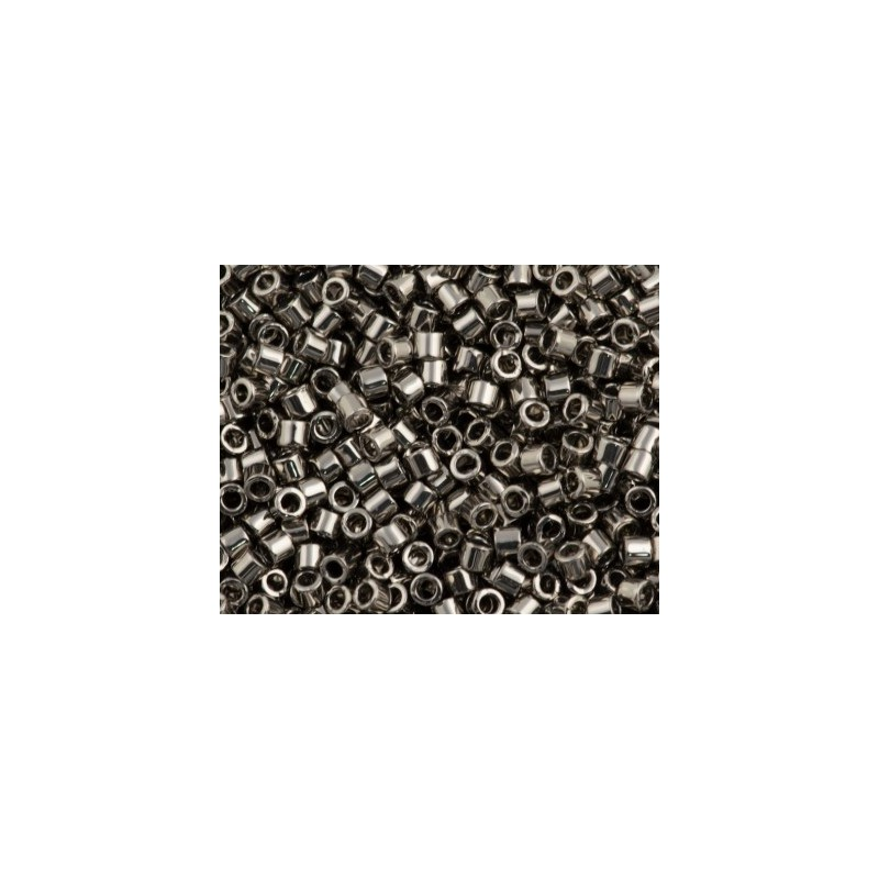 DBM-21 Nickel Plated Miyuki DELICA 10/0 seed beads