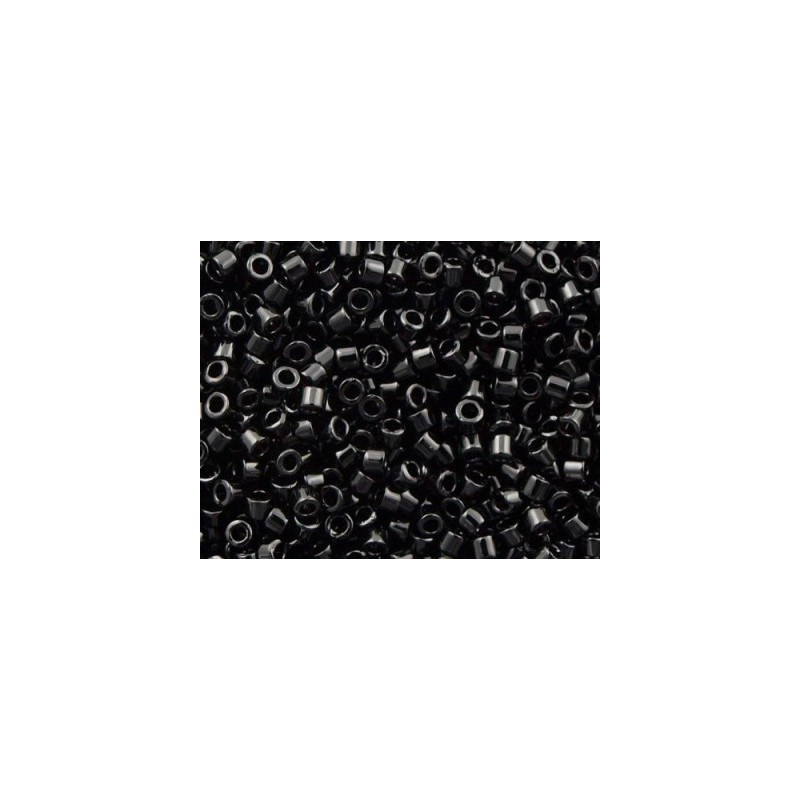 DBM-10 Opaque Glossy Black Miyuki DELICA 10/0 seed beads