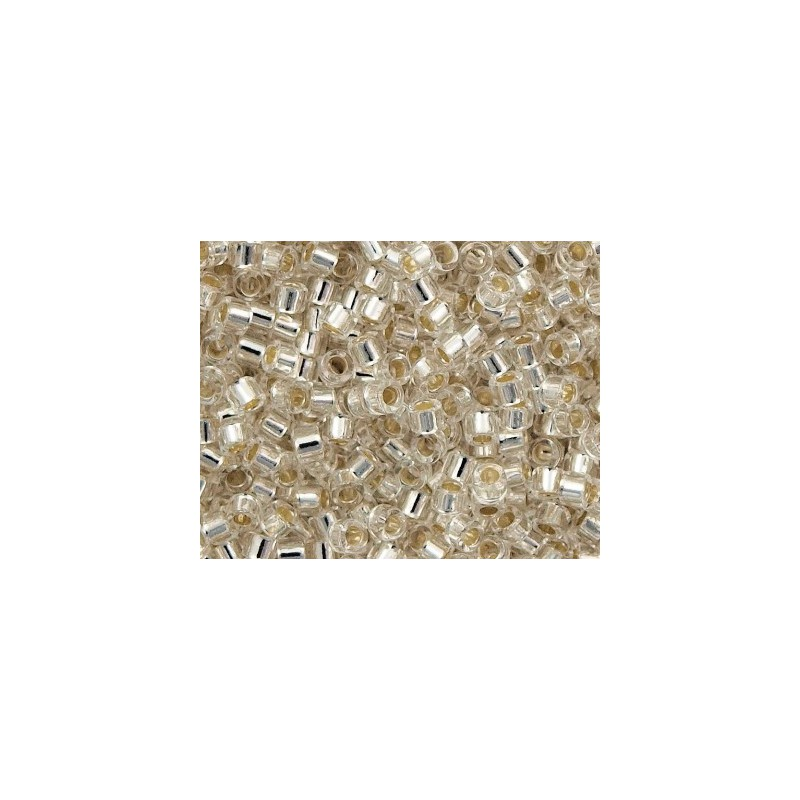 DBM-41 Silver Lined Crystal Miyuki DELICA 10/0 seed beads
