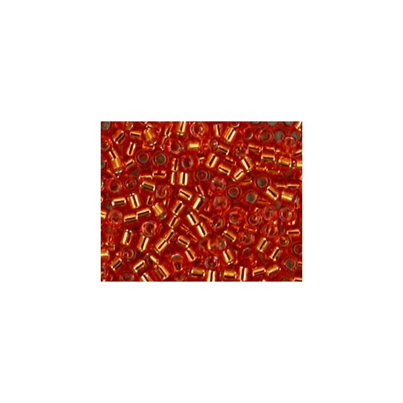 DBM-45 Silverlined Orange Miyuki DELICA 10/0 seed beads