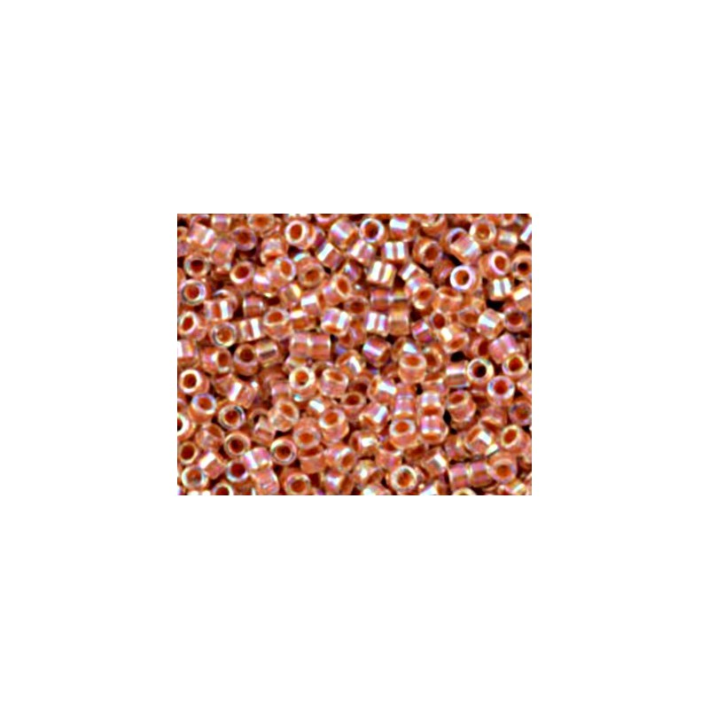 DBM-54 Inside Dyed Color Peach AB Miyuki DELICA 10/0 seed beads