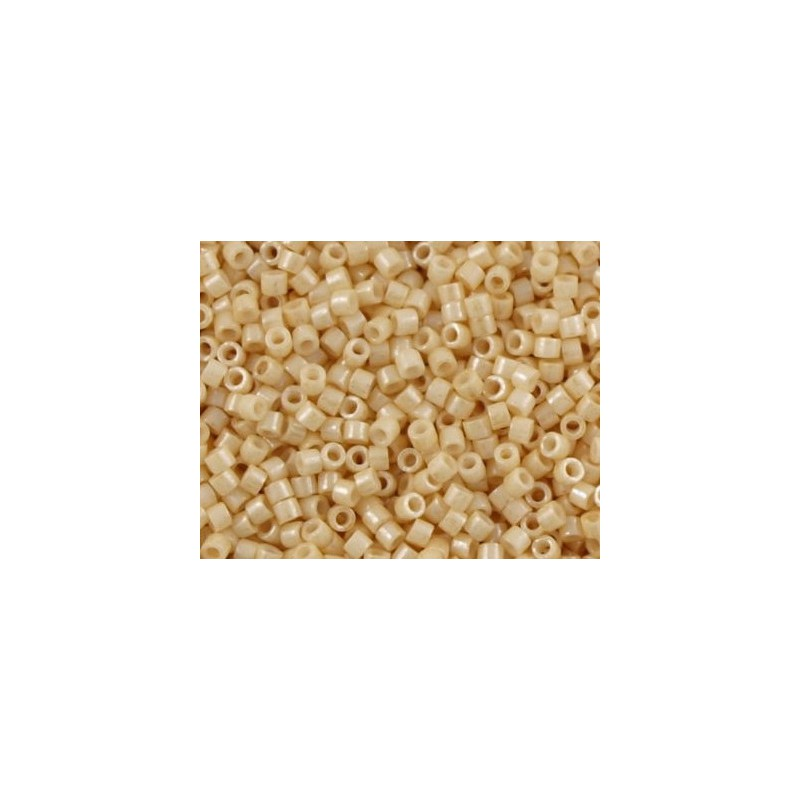 DBM-204 Opaque Light Tan Luster Miyuki DELICA 10/0 seed beads