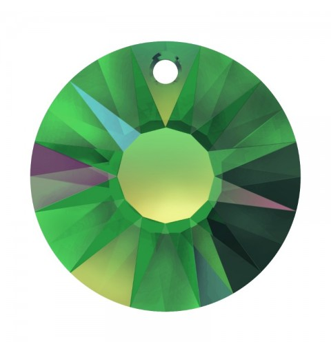 19MM Crystal Vitrail Medium P (001 VM) Sun Pendant partly frosted 6724/G SWAROVSKI ELEMENTS