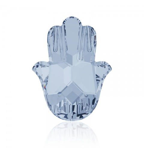18x13.7mm Crystal Blue Shade F (001 BLSH) Fatima Hand 4778 Fancy Stone Swarovski Elements