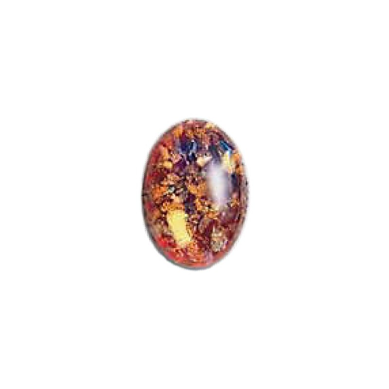 18x13mm Moonshine Opal with Avanturine 04262 416-12-030 Cabochons Preciosa