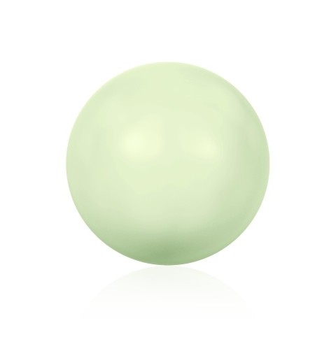 10MM Crystal Pastel Green Pearl (001 967) 5810 SWAROVSKI ELEMENTS