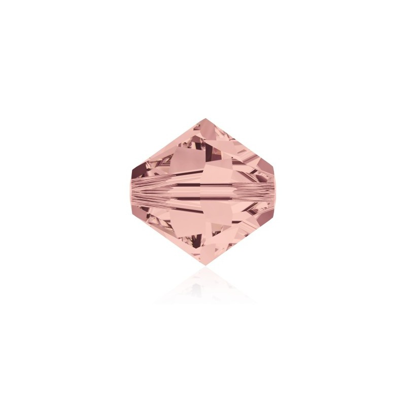 3MM Blush Rose (257) 5328 XILION Bi-Cone Beads SWAROVSKI ELEMENTS