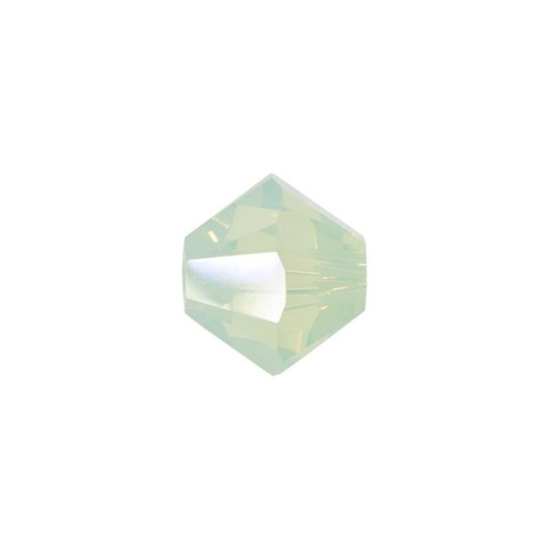 3MM Chrysolite Opal (294) 5328 XILION Bi-Cone Beads SWAROVSKI ELEMENTS