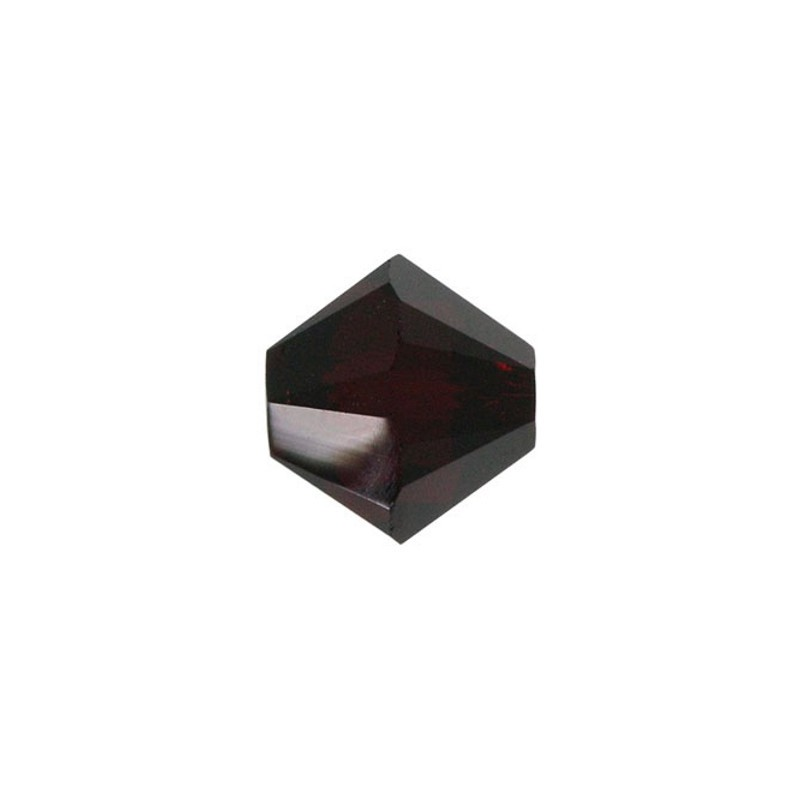 3MM Garnet (241) 5328 XILION Bi-Cone Beads SWAROVSKI ELEMENTS