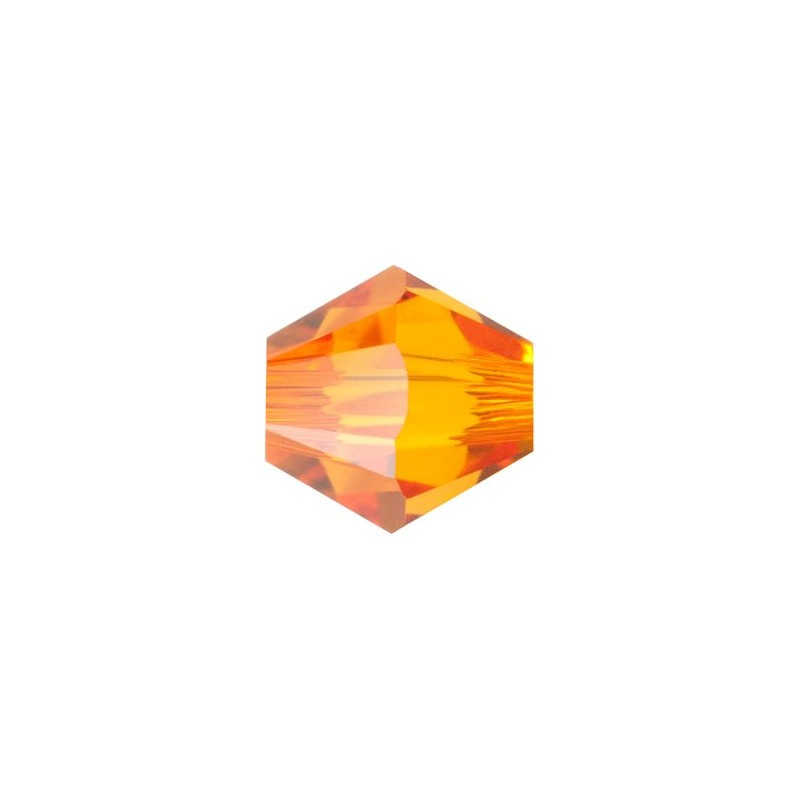 3MM Tangerine (259) 5328 XILION Bi-Cone Beads SWAROVSKI ELEMENTS
