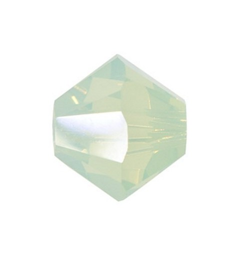 4MM Chrysolite Opal (294) 5328 XILION Bi-Cone Beads SWAROVSKI ELEMENTS