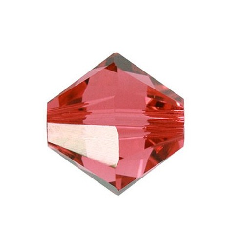 4MM Padparadscha (542) 5328 XILION Bi-Cone Beads SWAROVSKI ELEMENTS