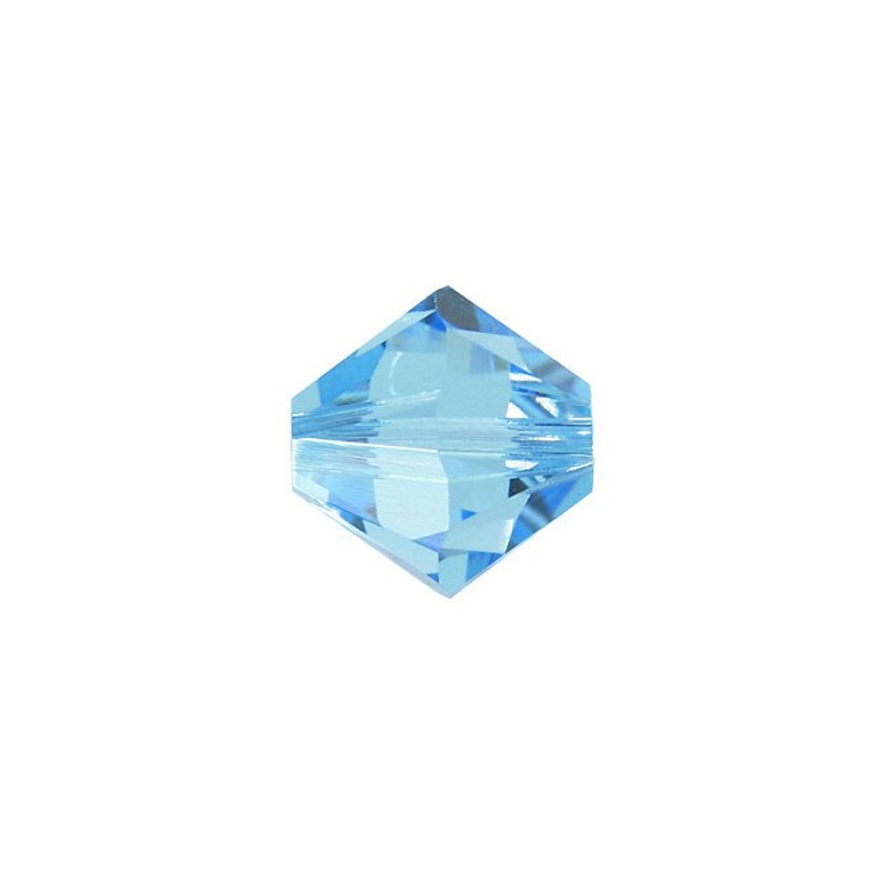 4MM Aquamarine (202) 5328 XILION Bi-Cone Beads SWAROVSKI ELEMENTS