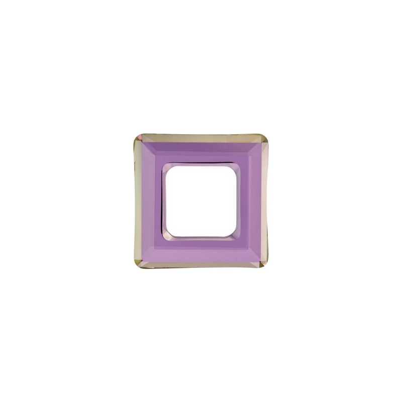 14mm Crystal Lilac Shadow (001 LISH) Square Ring 4439 Fancy Stone Swarovski Elements