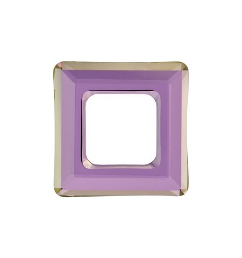 14mm Crystal Lilac Shadow (001 LISH) Square Ring 4439 Fancy Stone Swarovski Elements