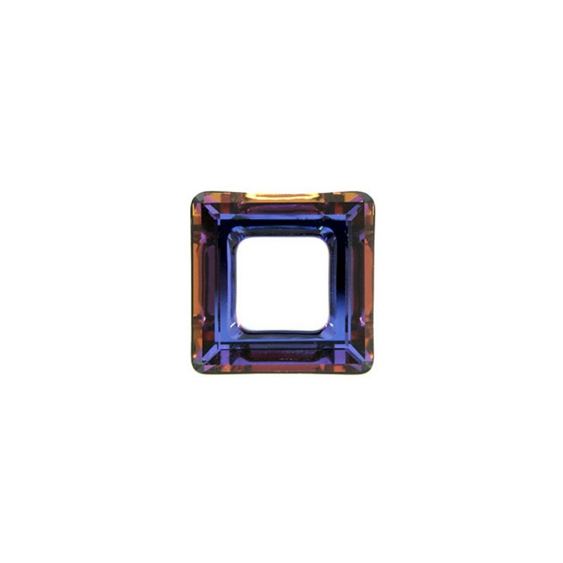 14mm Crystal Volcano (001 VOL) Square Ring 4439 Fancy Stone Swarovski Elements
