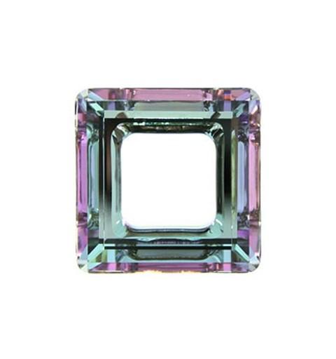 14mm Crystal Vitrail Light (001 VL) Square Ring 4439 Fancy Stone Swarovski Elements