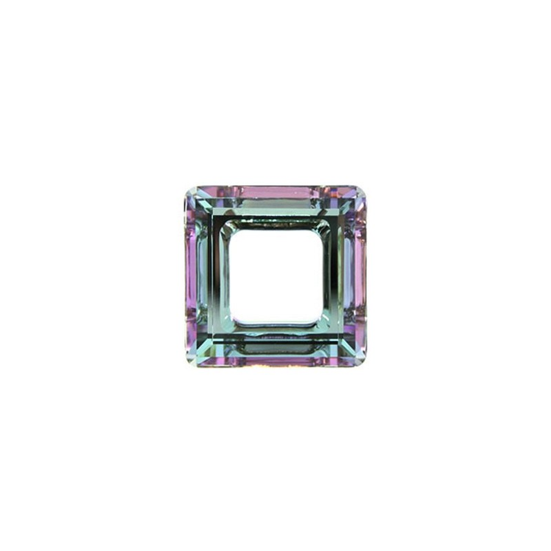 14mm Crystal Vitrail Light (001 VL) Square Ring 4439 Fancy Stone Swarovski Elements