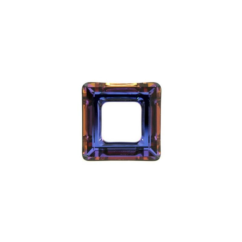 14mm Crystal Volcano (001 VOL) Square Ring 4439 Fancy Stone Swarovski Elements