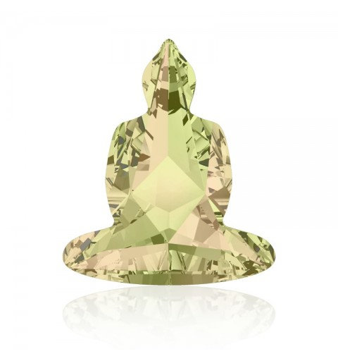 18x15.6mm Crystal Luminous Green F (001 LUMG) Buddha 4779 Ehte Kristall Swarovski Elements