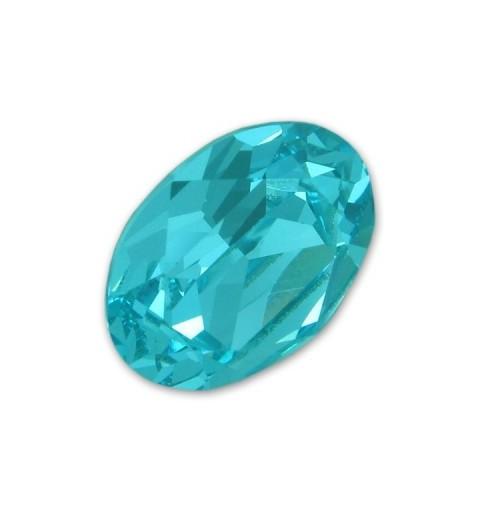 18x13mm Light Turquoise F (263) Oval Ehete Kristall 4120 Swarovski Elements