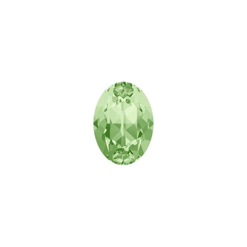 14x10mm Chrysolite F (238) Oval Fancy Stone 4120 Swarovski Elements